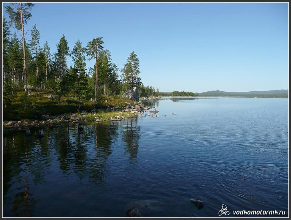 Озеро ковдозеро мурманская область